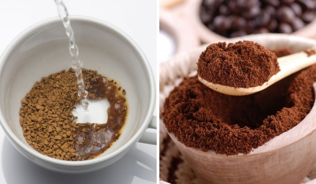 Ground Coffee and Instant Coffee