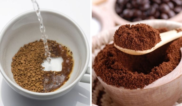 Instant Coffee vs. Ground Coffee