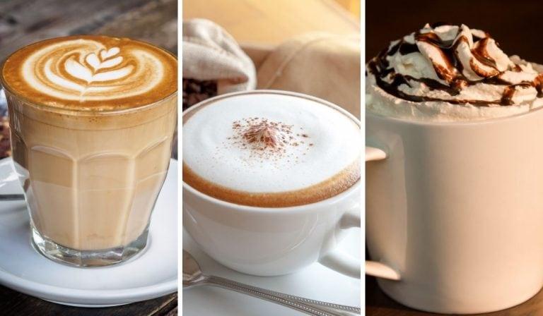 Latte vs. Cappuccino vs. Mocha