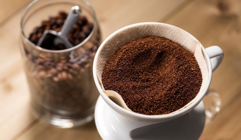 Brewing Coffee and the Ground Coffee
