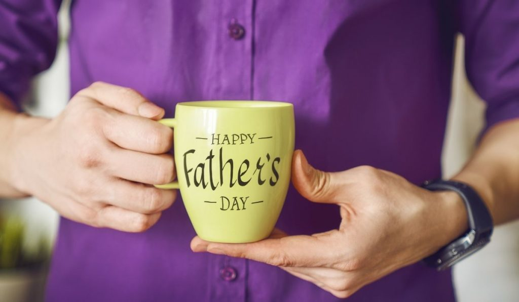 Happy Father's Day Coffee Cup
